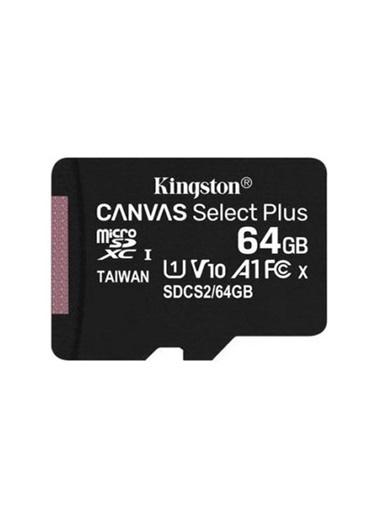 Kingston Kingston Kıngston 64Gb Microsd Cl10 Sdcs264Gb Renkli